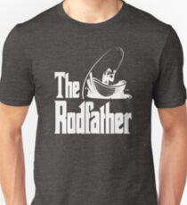 dc1a5d3878b The Rodfather (white) Unisex T-Shirt