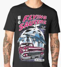 Flying Saucers  Men's Premium T-Shirt
