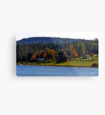 Autumn on Lake Campbell Metal Print