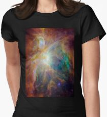Galaxy Rainbow v2.0 Women's Fitted T-Shirt