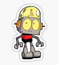 Robot Jones Sticker