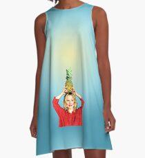 Want to Split a Pineapple?  A-Line Dress