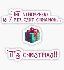 Most Christmassy Planet in the Universe Sticker