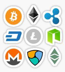 Kryptowährungskollektion 1 Sticker