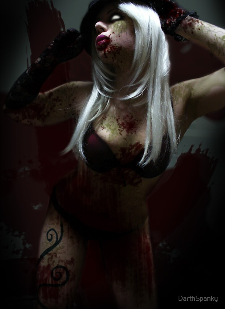 Pose of The Black Rose_Zombiefied Corruption by DarthSpanky