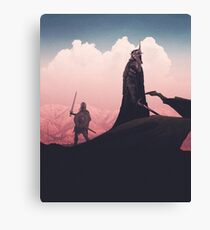 Witch King Canvas Print