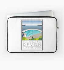 Lido Poster Plymouth Tinside Laptop Sleeve