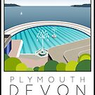 Lido Poster Plymouth Tinside by Steven House