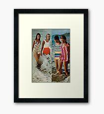 FASHION. Framed Print