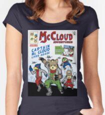 Captain McCloud Adventures Women's Fitted Scoop T-Shirt