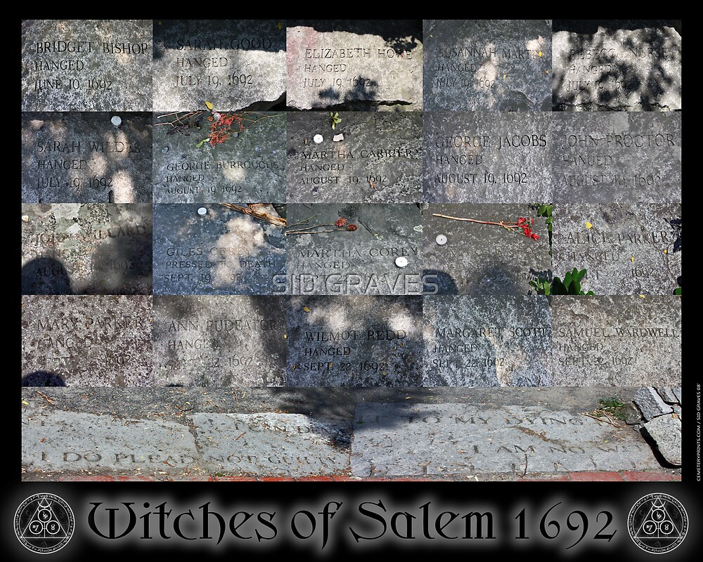 WITCHES OF SALEM 1692 by SID GRAVES
