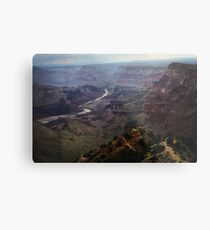 Grand Canyon & Painted Desert stormlight Metal Print