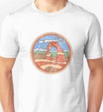 Delicate Arch Design Unisex T-Shirt