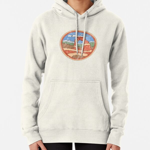 Delicate Arch Design Pullover Hoodie