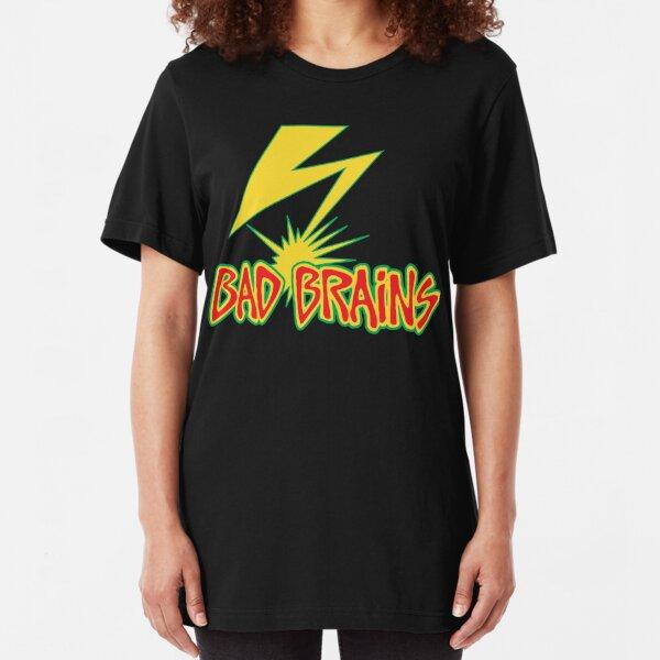 BadBrains Logo Slim Fit T-Shirt