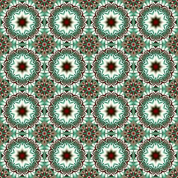 Decorative Christmas patterns by walstraasart