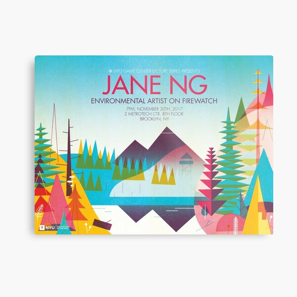 JANE NG Metal Print