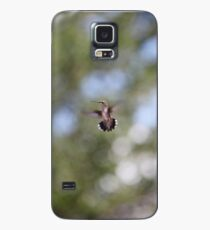 Tiny Hummingbird floating in space / Huitzilli Case/Skin for Samsung Galaxy
