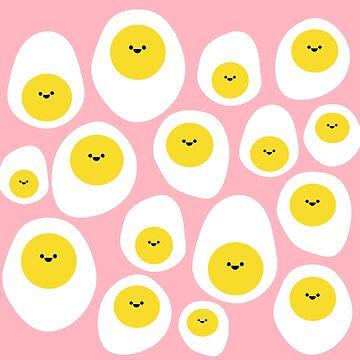 Happy Eggs by jotatopotato