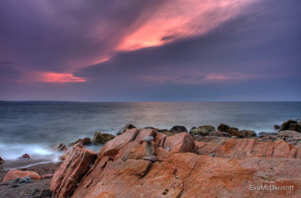 Cairn Cape Breton Highlands National Park by EvaMcDermott