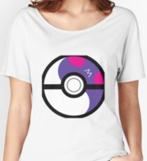 Masterball Ying Yang Women's Relaxed Fit T-Shirt
