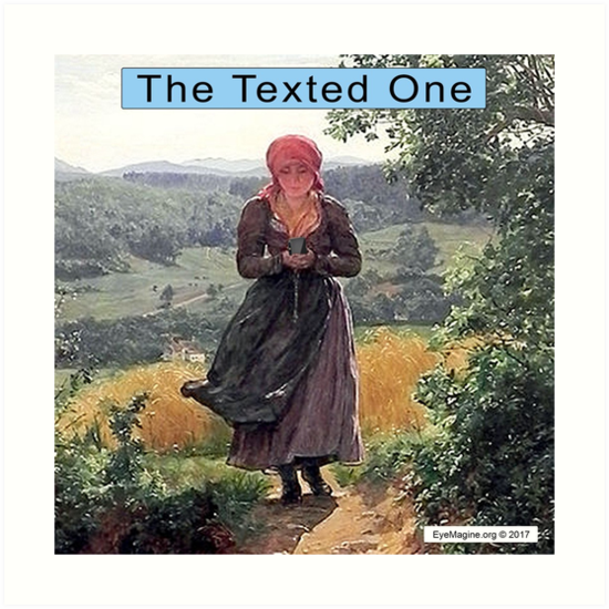 The Texted One by EyeMagined