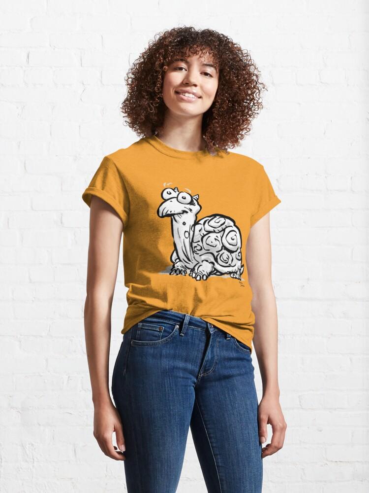 Alternative Ansicht von CORNIBUS SCHILDKRÖTE Classic T-Shirt