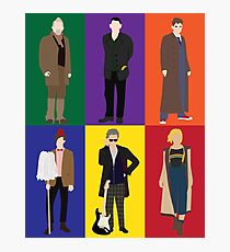 Doctor Who Character Print Photographic Print