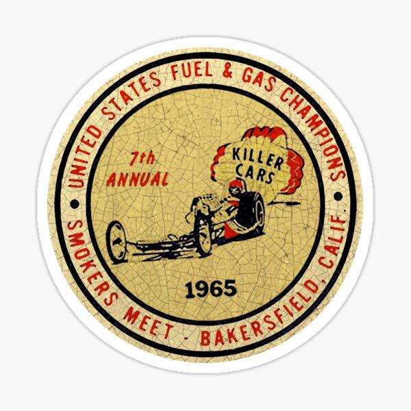 Drag Races Bakersfield 1965 Sticker