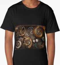 Steampunk - Abstract - Time is complicated Long T-Shirt