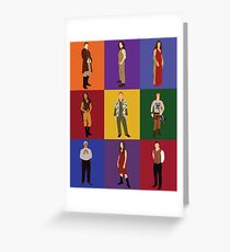 Firefly Character Print Greeting Card