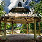 Gazebo in Conway by TJ Baccari Photography