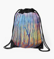 autumn landscape Drawstring Bag