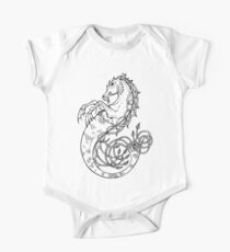 Sea Horse Knotted One Piece - Short Sleeve