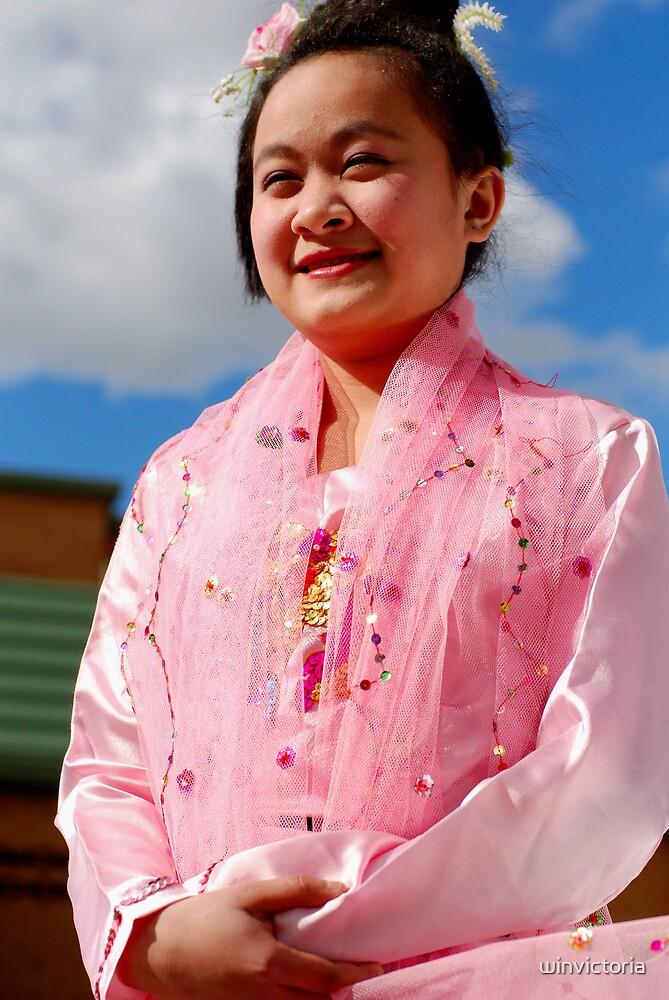 Burmese Dancer by winvictoria