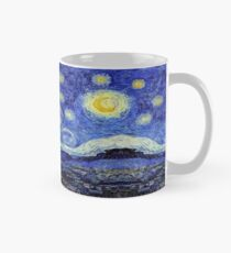 Starry Night Inspiration Tardis Time Machine Mug