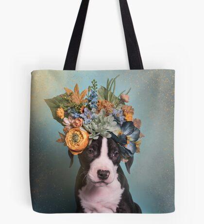 Flower Power, Blackbeard Tote Bag