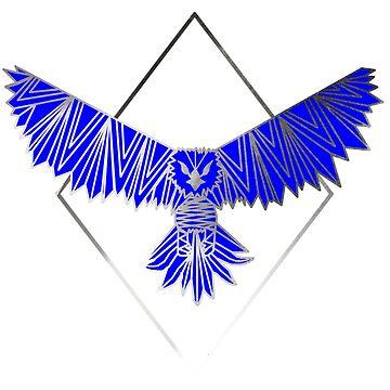 Geometric Eagle by EmmyAnastasia