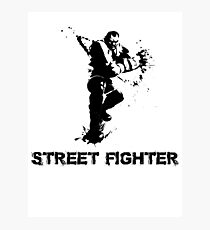 street fighter Photographic Print