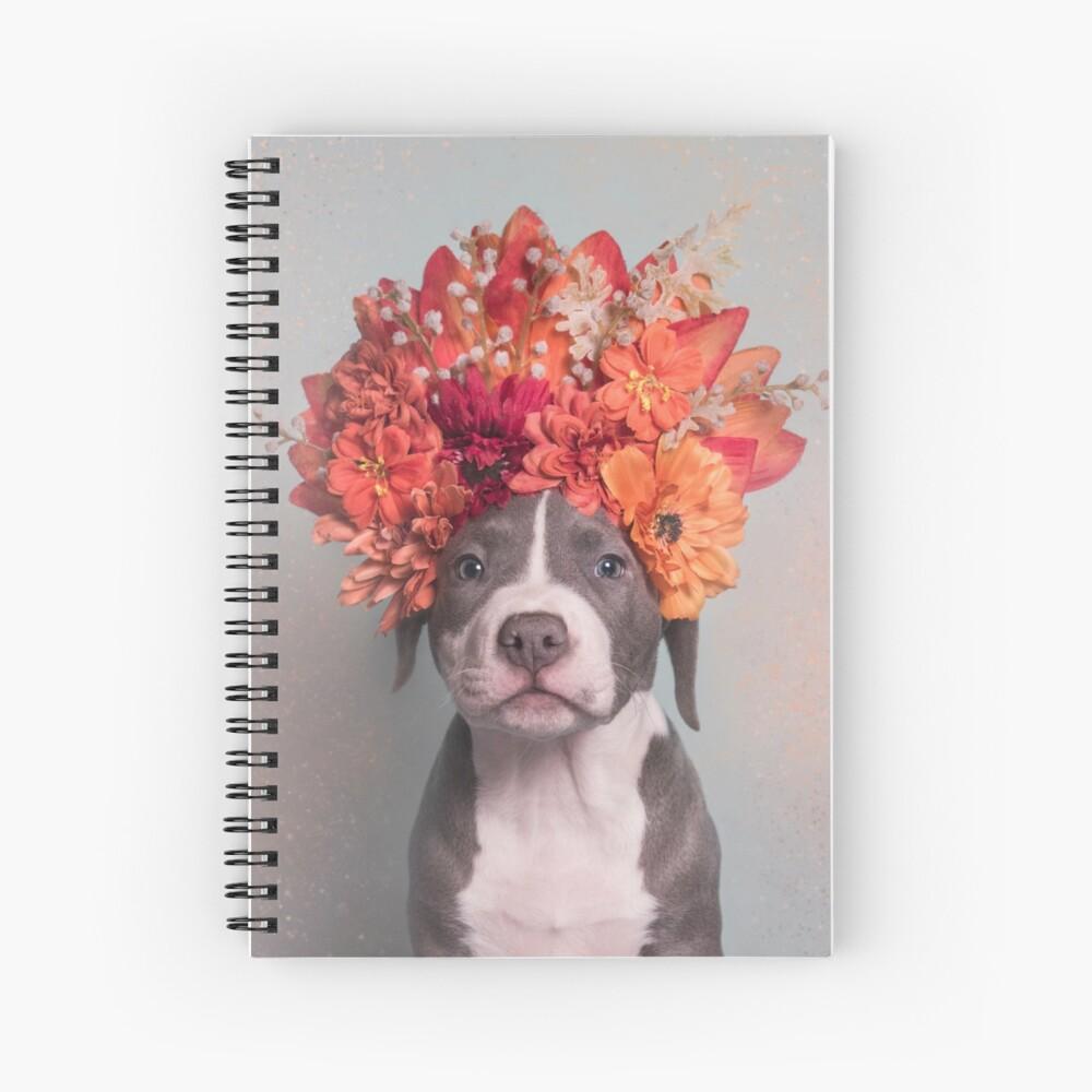Flower Power, Davy Jones Spiral Notebook
