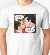 I Kissed a Boy and I Liked it Unisex T-Shirt