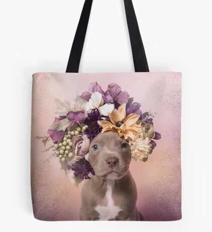 Flower Power, Cheeto Tote Bag