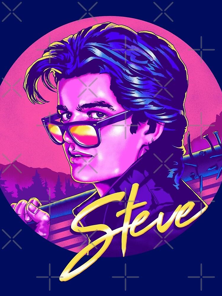 Fremde Dinge Steve Harrington | Verfügbar auf Maske von thelasttype