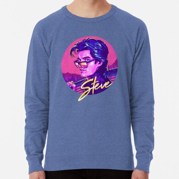 Stranger Things Steve Harrington   Available on Mask Lightweight Sweatshirt
