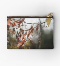 Autumn Leaves in Cambridgeshire England Studio Pouch
