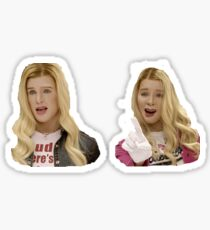 white chicks Sticker