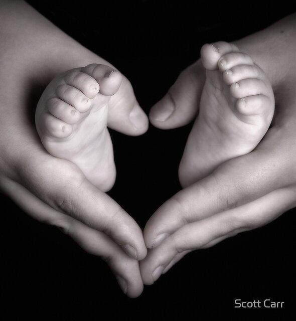 Little Feet by Scott Carr