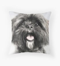 Lhasa Apso Lovers Throw Pillow