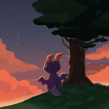 Sunset Dragon by happycricketbox