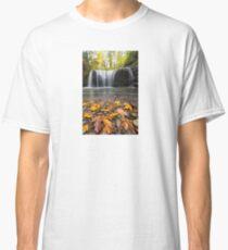 Fall Maple Leaves at Hidden Falls Classic T-Shirt